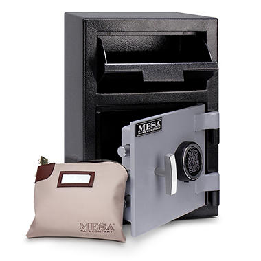 Mesa Safe All Steel Depository Safe - 0.8 Cubic Feet