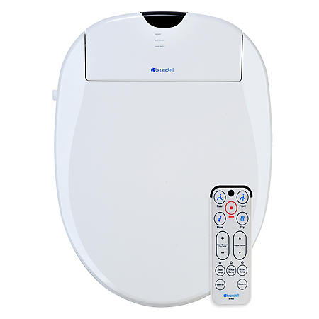Brondell Advanced Bidet Toilet Seat with Bonus Filter- (Elongated or Round)