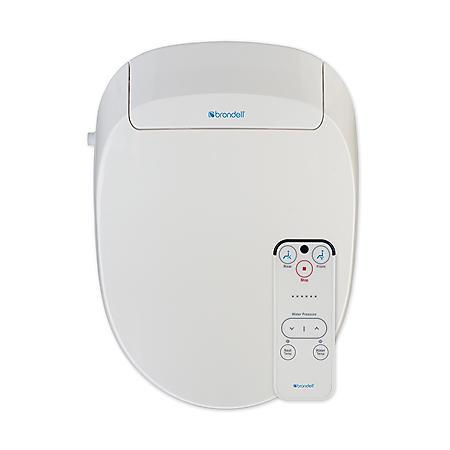 Brondell Advanced Bidet Toilet Seat with Bonus Filter-Elongated (White)