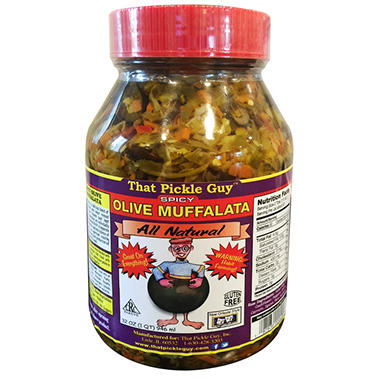 That Pickle Guy Spicy Olive Muffalata (32 oz.)