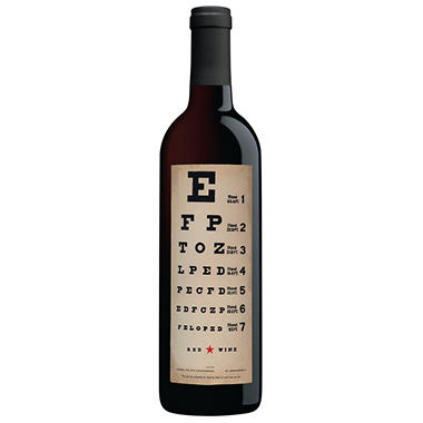 Eye Chart Wines Red Blend 750 Ml Sams Club