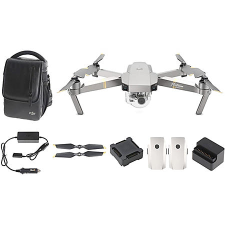 DJI Mavic Pro Platinum Quadcopter Fly More Combo