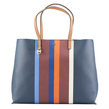 Women's Kerrington Stripe Square Tote by Tory Burch