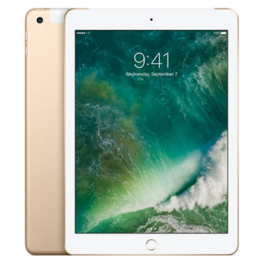 Apple iPad (2017 Model) Wi-Fi + Cellular 128 GB - Various Colors