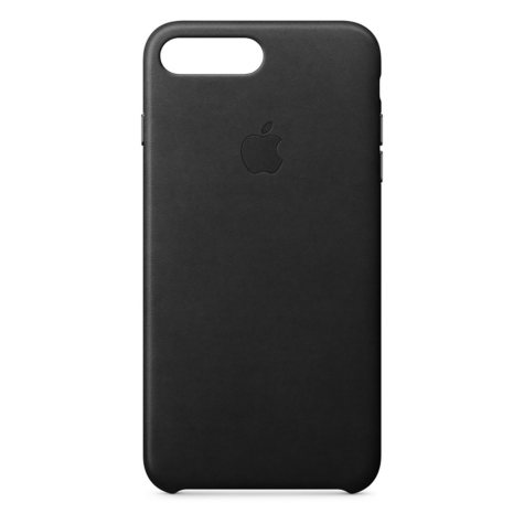 Apple iPhone 8 Plus Leather Case (Black)