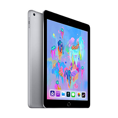 Apple iPad (2018 Model) Wi-Fi 32GB (Choose Color)