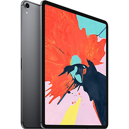 "Apple iPad Pro 12.9"" 3rd Generation 256GB with Wi-Fi + Cellular (Space Gray)"