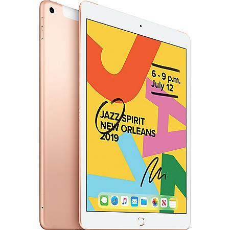 Apple iPad 10.2 7th Generation WiFi + LTE 128GB (Choose Color)
