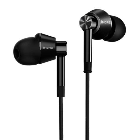 1MORE Dual Driver In-Ear Headphones with Smart Microphone and Remote