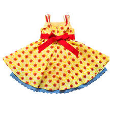 "Disney by Tutu Couture ""Beauty and the Beast"" Belle Chiffon Romantic Dress"