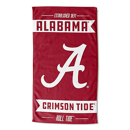 "The Northwest Company NCAA Alabama Team Sports Towel (40"" x 72"")"