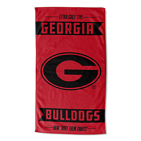 "The Northwest Company NCAA Georgia Bulldogs Team Sports Towel (40"" x 72"")"