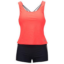 RBX Ladies Mesh Swimwear Tankini Set