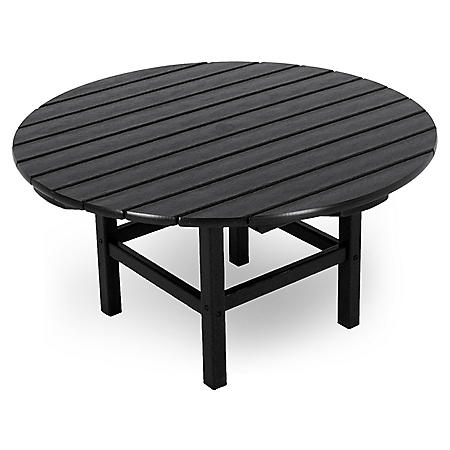 "Classics 38"" Round Conversation Table (Various Colors)"