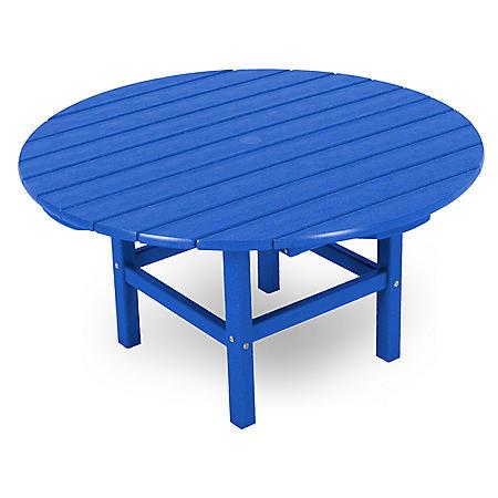 CONVERSATION TABLE PACIFIC BLUE