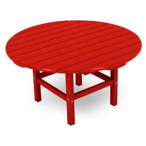CONVERSATION TABLE SUNSET RED