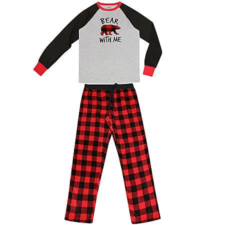 Fam Jam Men's Family Pajama 2-Piece Set
