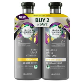 Herbal Essences Bio:Renew Charcoal Shampoo & Conditioner (13.5 fl. oz., 2 pk.)