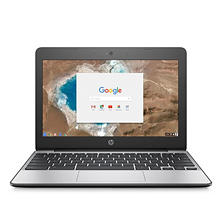 "HP HD 11.6"" Chrome Notebook, Intel Celeron N3060 Processor, 4GB Memory, 16GB Hard Drive, HD Webcam, Chrome OS"