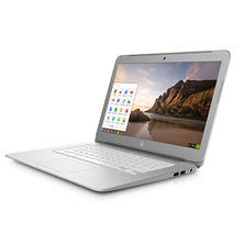 "HP 14.0"" Thin & Light HD Chrome Notebook, Intel Celeron N2840 Processor, 4GB Memory, 16GB eMMC Hard Drive, Intel HD Graphics, a/c 2x2, Chrome OS"