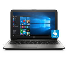 "HP HD 15.6"" Touchscreen Notebook, Intel Core i5-7200U Processor, 12GB Memory, 1TB Hard Drive, SuperMulti DVD Burner, Windows 10 Home, Available in: Turbo Silver, Dreamy Teal, Nobel Blue"