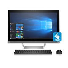 "HP 24"" Full HD IPS All-in-One Desktop, Intel Core i7-7700T Processor, 8GB Memory, 1TB Hard Drive, 2GB Graphics, HD Webcam, Wireless Keyboard and Mouse, Windows 10 Home"