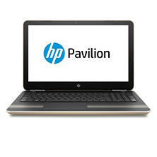 "HP Full HD 15.6"" Notebook, AMD A12-9700P QC Processor, 12GB Memory, 256GB SSD Hard Drive, HD WFOV Webcam, Backlit Keyboard, B&O Play Audio, Optical Drive, Windows 10 Home, Modern Gold"