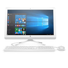 "HP Full HD 24"" All-in-One Desktop, AMD A8-7410 Processor, 8GB Memory, 1TB Hard Drive, Optical Drive, Windows 10 Home, with Keyboard and Mouse"