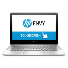 "HP ENVY 13.3"" QHD+ Touchscreen Notebook, Intel Core i7-7500U Processor, 8GB Memory, 256GB SSD Hard Drive, Backlit Keyboard, Bang & Olufsen Sound, Windows 10 Home"