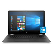 "HP Pavilion X360 Convertible 2-in-1 Touchscreen HD 15.6"" Notebook, Intel Core i5-7200U Processor, 8GB Memory, 500GB SSHD, Backlit Keyboard, HD Wide FOV Webcam, B&O Play Sound, Windows 10 Home, Natural Silver"