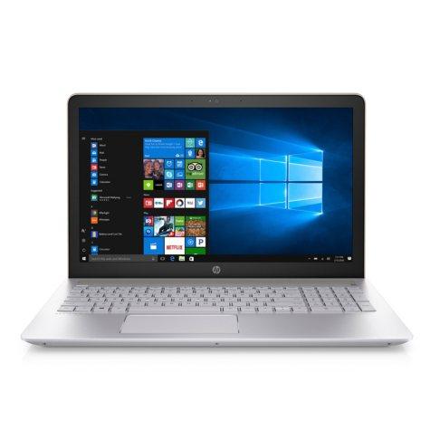 "HP Pavilion Full HD 15.6"" Notebook, Intel Core i7-7500U Processor, 8GB Memory, 1TB Hard Drive, Backlit Keyboard, B&O Play Sound, Optical Drive, HD Webcam, Windows 10 Home, Silk Gold"