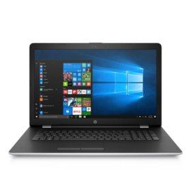 "HP 17.3"" Full HD IPS Notebook, Intel Core i7-7500U Processor, 12GB Memory, 1TB Hard Drive, 2GB Radeon 520 Graphics, HD Webcam, Optical Drive, Backlit Keyboard, Windows 10 Home, Natural Silver"
