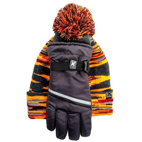 ZeroXposur Boys' Hat and Glove Set