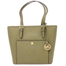 Women's Jet Set Snap Pocket Medium Handbag by Michael Kors