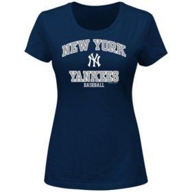 MLB - Women's Plus Size Short-Sleeve Scoop Tee