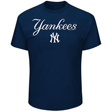 MLB - Men's Big & Tall New York Yankees Short-Sleeve Tee