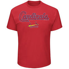 MLB - Men's Big & Tall St. Louis Cardinals Short Sleeve Tee