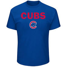 MLB - Men's Big & Tall Chicago Cubs Short-Sleeve Tee