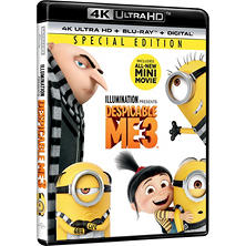 Despicable Me 3 4K Ultra HD + Bluray + Digital
