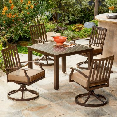 Royal Garden Oakmont 5 Piece Patio Cushion Dining Set (Various Colors)