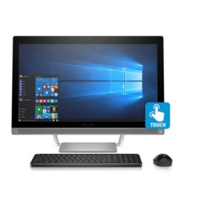 "HP Pavilion Touchscreen Full HD 27"" All-in-One Desktop, Intel Core i7-7700T Processor, 8GB Memory, 1TB Hard Drive, 10 Point Touch Display, B&O Sound, Wireless Keyboard and Mouse, Windows 10 Home"