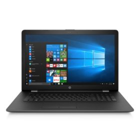 "HP 17.3"" HD+ Notebook, Intel Core i7-7500U Processor, 8GB Memory, 2TB Hard Drive, DVD Drive, HD Webcam, 2 Year Warranty Care Pack"