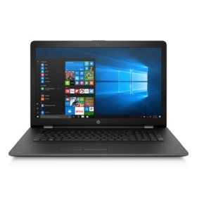 "HP 17.3"" HD+ Notebook, Intel Core i3-7100U DC Processor, 8GB Memory, 2TB Hard Drive, Optical Drive, HD Webcam, Backlit Keyboard, 2 Year Warranty Care Pack, Available in:  Smoke Gray, Pale Mint, Marine Blue"