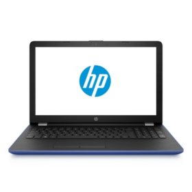 "HP 15.6"" HD Notebook, Intel 8th Gen Core i5-8250U QC Processor, 12GB Memory, 2TB Hard Drive, Optical Drive, HD Webcam, 2 Year Warranty Care Pack, Available in:  Jet Black, Marine Blue, Amethyst Purple"