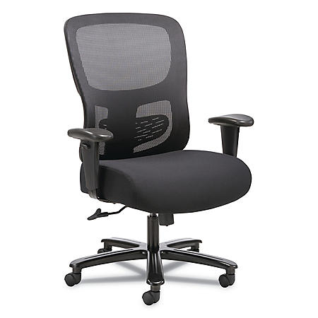 Sadie 1-Fourty-One Big and Tall Mesh Task Chair, Supports up to 350 lbs. (Black)