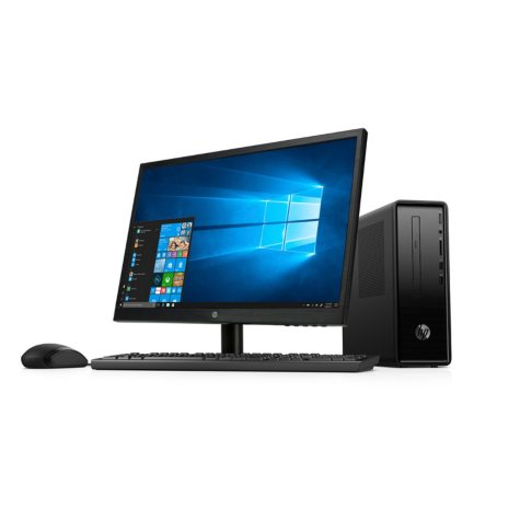 "HP 22"" Desktop Bundle, Intel Core i3-8100 Processor, 8GB Memory, 1TB Hard Drive, Optical Drive, HP Audio, Keyboard and Mouse, 2 Year Warranty Care Pack, Windows 10 Home"