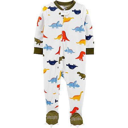 Carter's 1-Piece Dinosaur Fleece Footie PJs