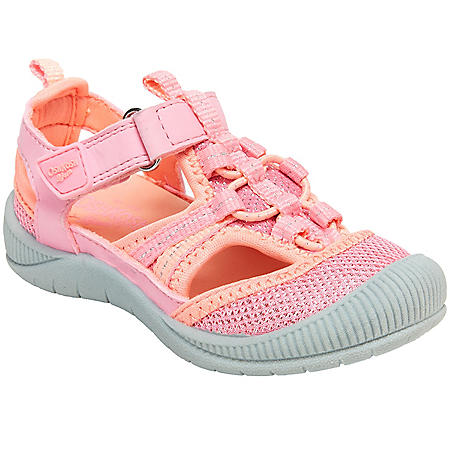 Oshkosh Girls' Bump Toe Sandal