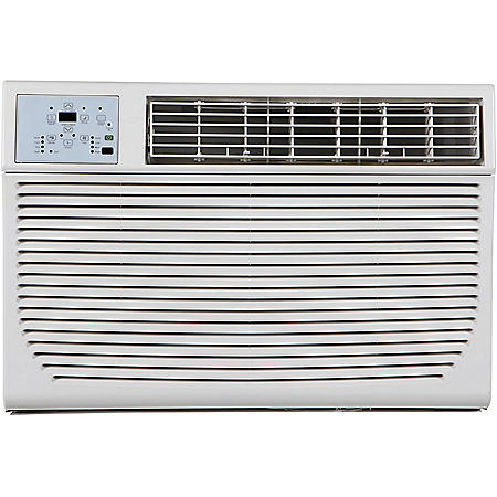 Keystone 8,000 BTU 115V Window/Wall Air Conditioner with 3,500 BTU Supplemental Heat Capability
