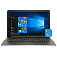 "HP Touchscreen 17.3"" HD+ Notebook, Intel Core i7-8550U Processor, 24GB Memory:  16GB Intel Optane + 8GB RAM, 1TB Hard Drive, Optical Drive, HD Wecam, HD Audio, Backlit Keyboard, 2 Year Warranty Care Pack, Windows 10 Home, Available in: Multiple Colors"